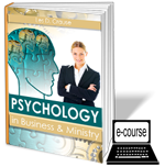 Psychology in Business and Ministry