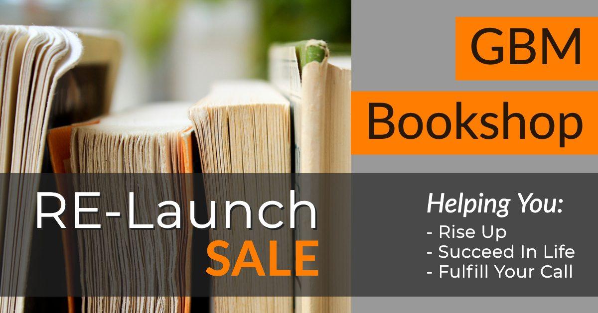 GBM Bookshop Relaunch Sale