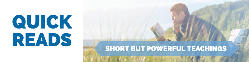 Quick Read – Short But Powerful