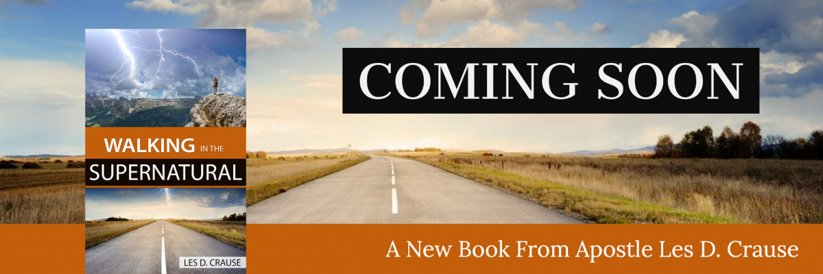 Coming Soon – Walking in The Supernatural